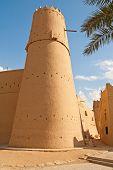 stock photo of riyadh  - Al Masmak fort in the Riyadh city - JPG