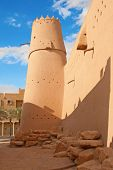 stock photo of saudi arabia  - Al Masmak fort in the Riyadh city - JPG