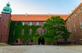 Courtyard In Stockholm City Hall Building (stadshuset) Of Municipal Council And Venue Of Nobel Prize poster