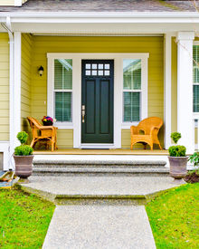 picture of front door  - Entrance of a house - JPG