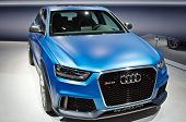 MOSCOW-SEPTEMBER 8: In Moscow International Motor Show. Audi RS Q3 Quattro, on September 8,2012 in M