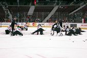 Ottawa Senators Stretches