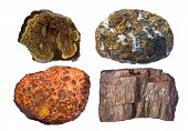 stock photo of copper  - Zinc ore is sphalerite  - JPG