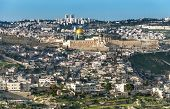 picture of israel israeli jew jewish  - The Temple Mount also know as Mount Moriah in Jerusalem Israel - JPG
