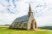 pic of chapels  - Church Notre Dame de la Garde chapel Etretat village Normandy France Europe - JPG