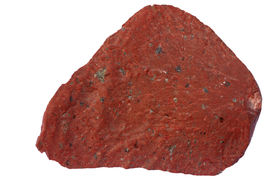 image of feldspar  - Rhyolite exposed at the bottom of the Baltic Sea - JPG