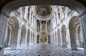 image of versaille  - inside view of the Royal Chapelle of Versailles Palace - JPG