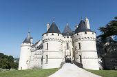 CHAUMONT SUR LOIRE, FRANCE - AUGUST 18: Castle on August 18, 2012 in Chaumont Sur Loire, France. Ori