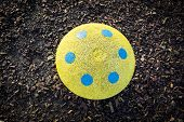 Toadstool playground stool