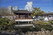 Chinese Garden in Vancouver, British Columbia, Canada