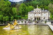 pic of bavarian alps  - Bavarian castles - JPG
