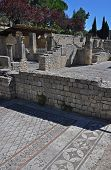 stock photo of fascinating  - The extensive Roman ruins at Vaison - JPG
