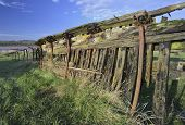 picture of dispatch  - Remains of old wooden ship Dispatch - JPG