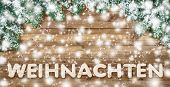 foto of weihnachten  - German word for Christmas  - JPG