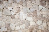 pic of tile cladding  - the part of a stone wall background - JPG