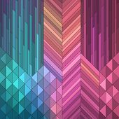 picture of spatial  - Colorful Geometric Background - JPG