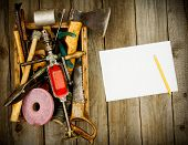picture of tool  - Old working tools - JPG