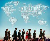image of globalization  - International World Global Network Globalization International Concept - JPG