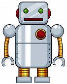 pic of tin man  - Close up tin toy robot - JPG