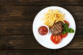 stock photo of buffet lunch  - Restaurant food  - JPG