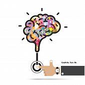 stock photo of creativity  - Brain opening concept - JPG