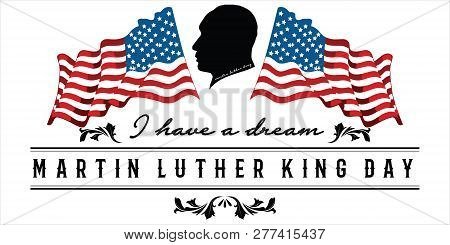 Mlk Day Poster Martin Luther