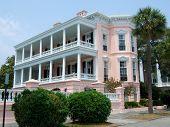 Charleston SC Historic House poster