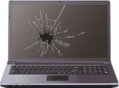 Cracked Laptop