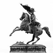 foto of bonaparte  - Statue Of Archduke Charles Of Austria at the Hofburg Imperial Palace in Vienna - JPG