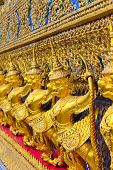 stock photo of garuda  - Garuda in temple thailand - JPG