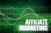 Affiliate Marketing to Make Money Online Concept