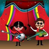 Постер, плакат: The band