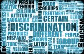 picture of racial discrimination  - Discrimination Creative Concept Grunge as a Art - JPG