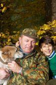 stock photo of laika  - Family portrait - JPG
