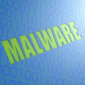stock photo of malware  - Malware image with hi - JPG