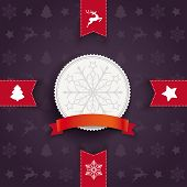 picture of x-files  - Christmas greeting card design with dark background - JPG