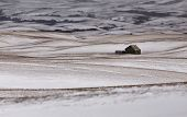 image of prairie  - Prairie Landscape in winter Saskatchewan Canada scenic  - JPG