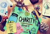 pic of charity relief work  - Charity Donate Help Give Saving Sharing Support Volunteer Concept - JPG
