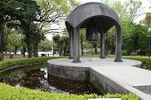 image of peace  - Hiroshima city in Chugoku region of Japan  - JPG
