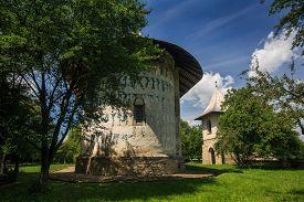 image of suceava  - Arbore church - JPG
