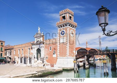 Venice Italy tower At The