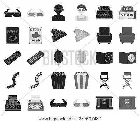 Films And Cinema Black Monochrome