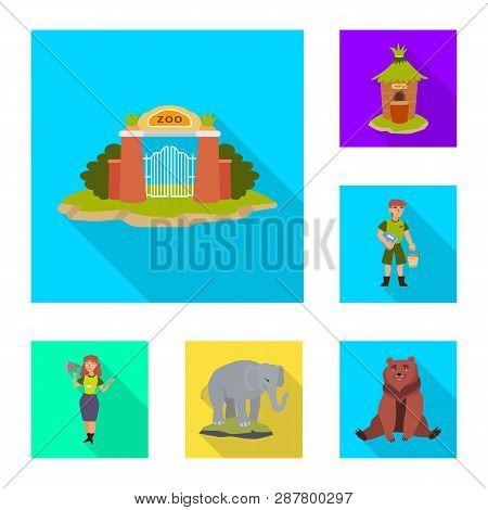 Vector Illustration Of Safari And
