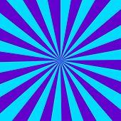 Sun Rays Background. Sunburst Vector. Blue Sun Sunburst. Sun Rays poster