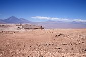 pic of street-walker  - mountains in Atacama desert  - JPG