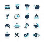 stock photo of beef-burger  - Food Icons  - JPG