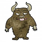 foto of minotaur  - cartoon minotaur - JPG