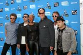 LOS ANGELES - JUL 31:  Fitz and the Tantrums, featuring Michael Fitzpatrick arrives at the 2013 Do S