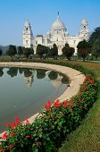 stock photo of tourist-spot  - Victoria Memorial - JPG