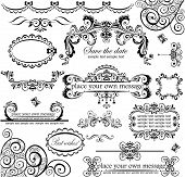 stock photo of lace-curtain  - Wedding design - JPG
